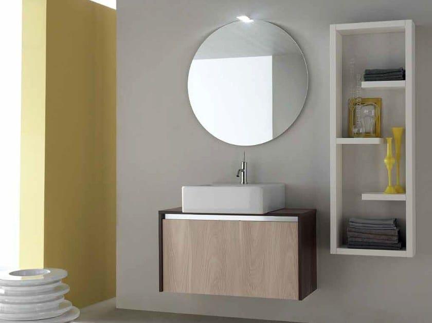 Wooden bathroom cabinet / vanity unit E.GÒ - COMPOSITION 13 - Arcom
