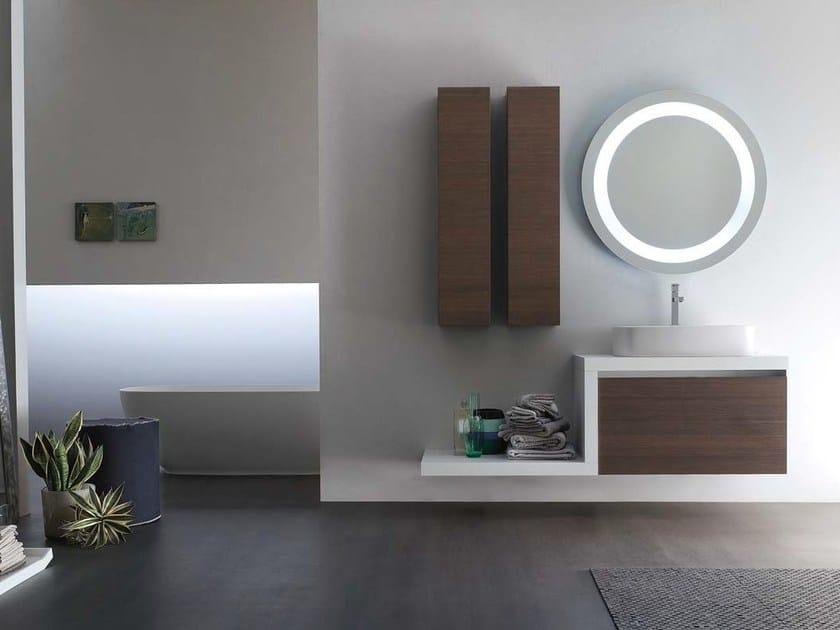 Sistema bagno componibile E.GÒ - COMPOSIZIONE 25 by Arcom