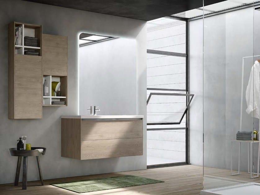 Sistema bagno componibile E.GÒ - COMPOSIZIONE 30 by Arcom