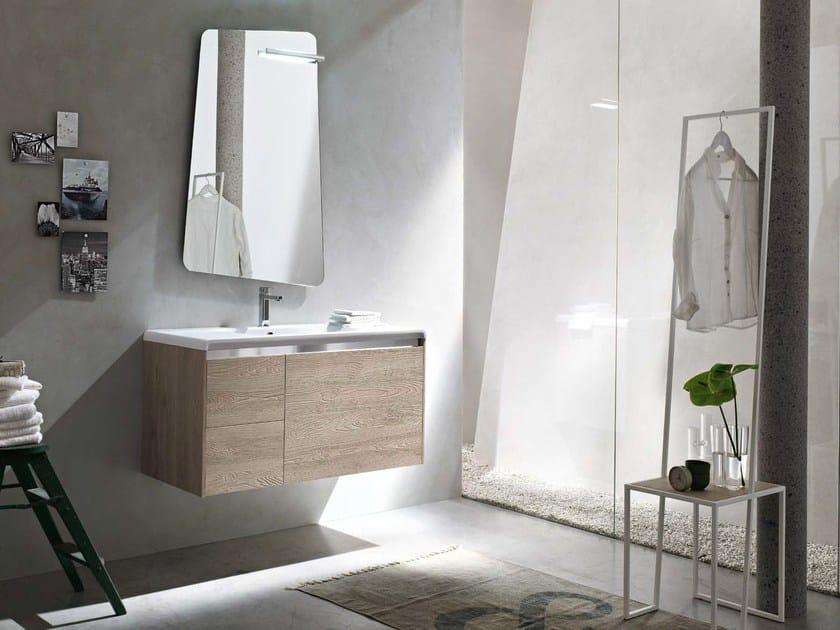 Sistema bagno componibile E.GÒ - COMPOSIZIONE 37 by Arcom