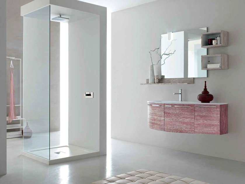 Sistema bagno componibile E.LY - COMPOSIZIONE 45 - Arcom