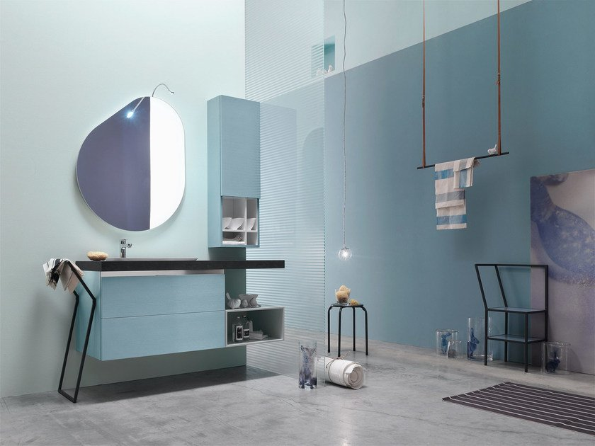 Bathroom cabinet / vanity unit E.GÒ - COMPOSITION 47 - Arcom