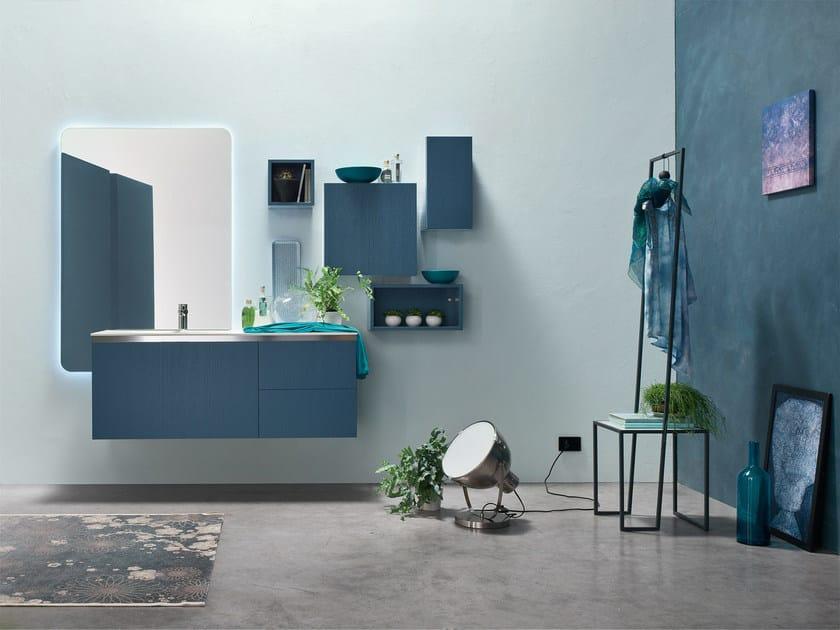 Sistema bagno componibile E.GÒ - COMPOSIZIONE 48 - Arcom