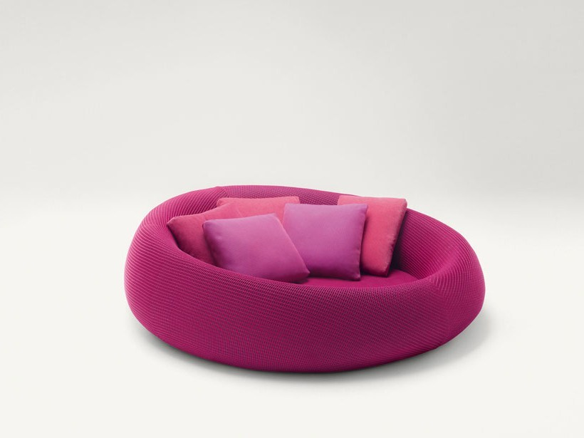 Round sofa with removable cover EASE | Round sofa - Paola Lenti