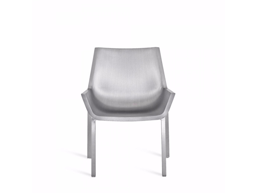Aluminium easy chair SEZZ | Easy chair - Emeco