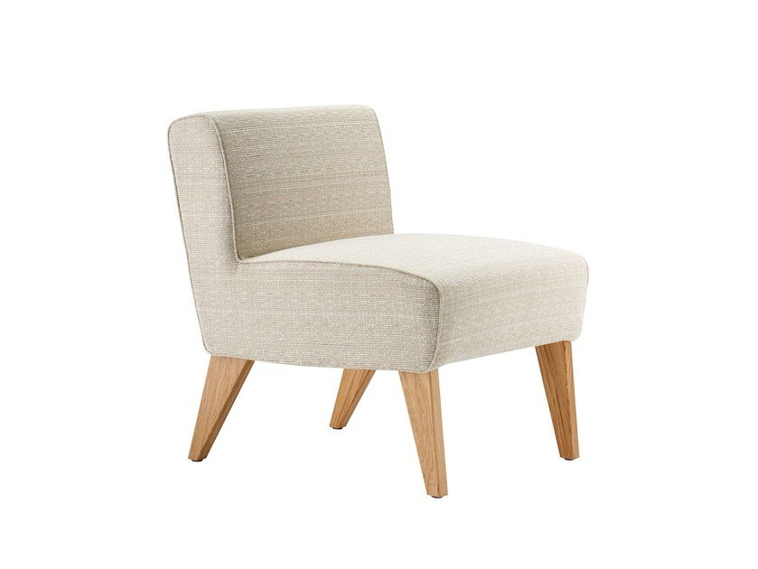 Upholstered fabric easy chair WIENER FAUTEUIL | Easy chair by rosconi