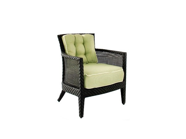 Garden armchair with armrests PALM SPRINGS | Easy chair with armrests by 7OCEANS DESIGNS