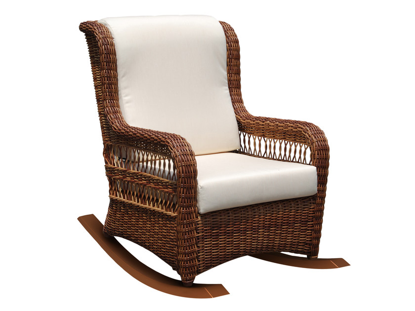 Rocking chair EBONY 22866 - SKYLINE design