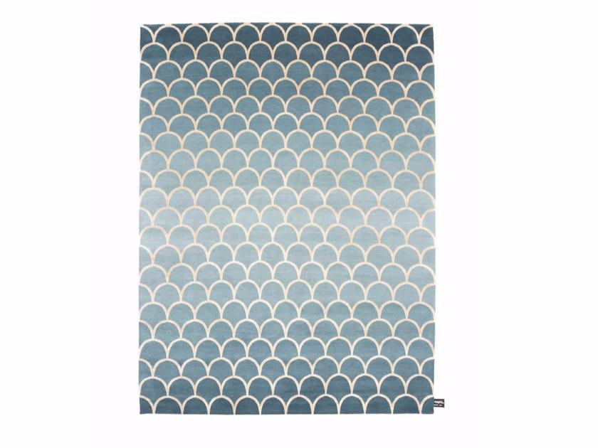 Rectangular rug ECAILLES DEGRADÉ 2.0 - cc-tapis ®
