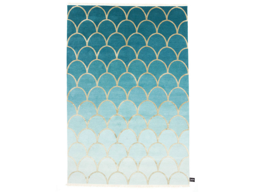 Rectangular rug ECAILLES DEGRADÉ - cc-tapis ®