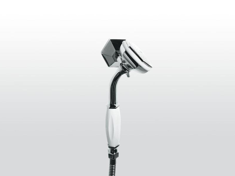 Wall-mounted handshower with hose with bracket ECCELSA 304 - RUBINETTERIE STELLA