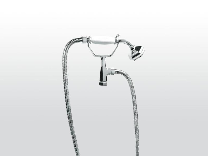 Handshower with bracket ECCELSA 306 by RUBINETTERIE STELLA