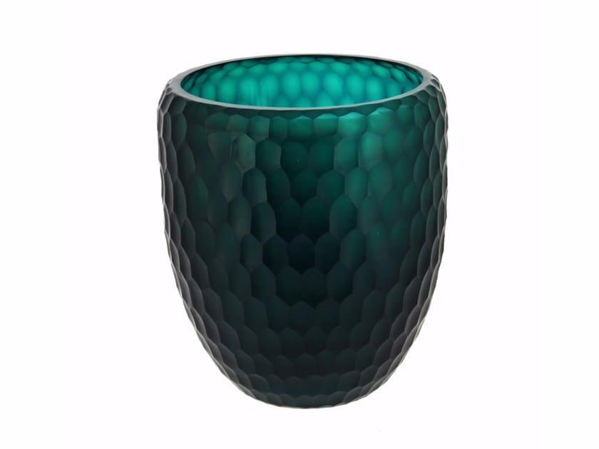 Glass vase ECLAT VASE COUPE - Compagnie Française de l'Orient et de la Chine