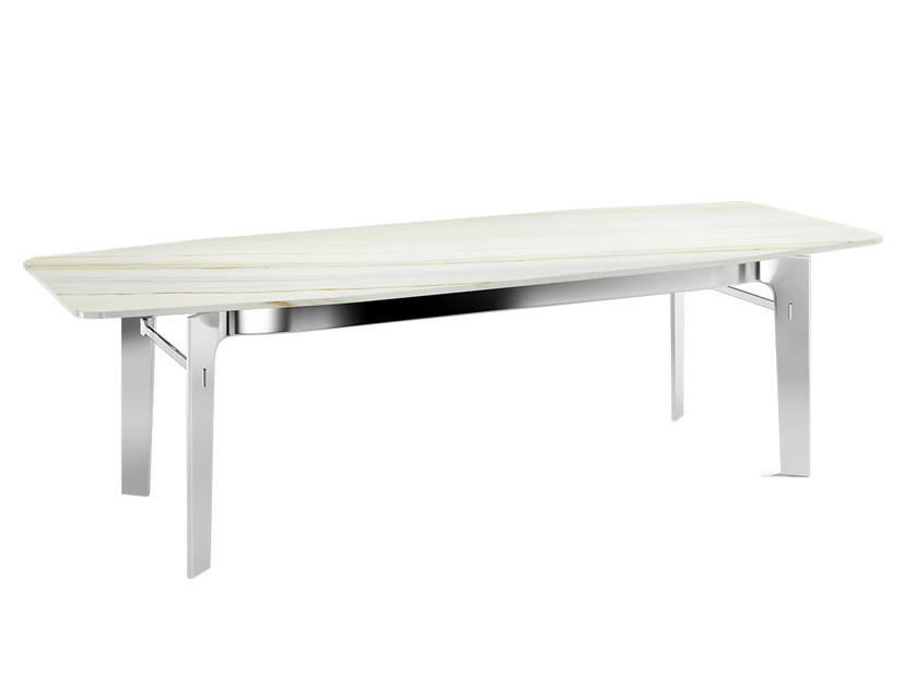 Rectangular marble table ECLECTIC | Marble table - Capital Collection by Atmosphera