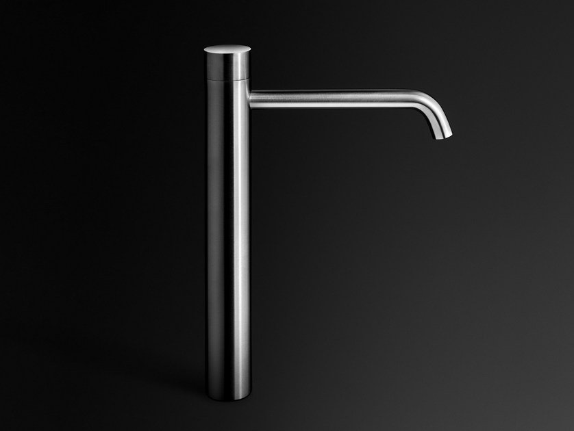 Single handle stainless steel washbasin mixer ECLIPSE | 1 hole washbasin mixer by Boffi