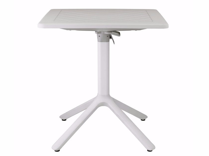 Drop-leaf square table with 4-star base ECO | Drop-leaf table by SCAB DESIGN
