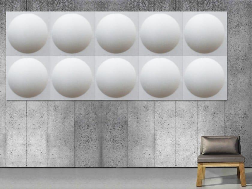 Decorative acoustical panel ECOROUND | Decorative acoustical panel by Slalom
