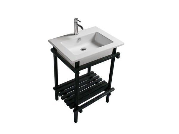 Oak console sink EDEN - 7235 - GALASSIA