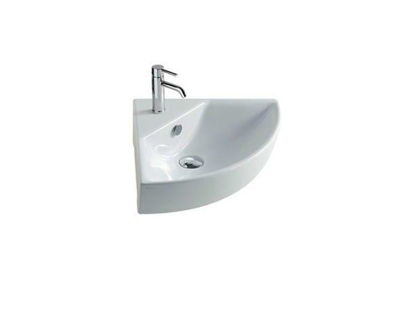 Corner ceramic washbasin EDEN | Corner washbasin - GALASSIA