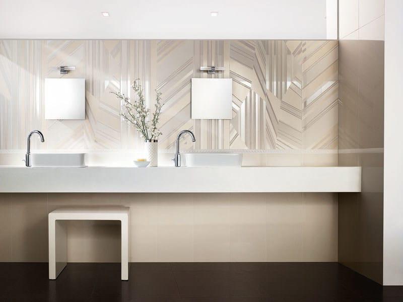 Double-fired ceramic wall tiles EDEN VANIGLIA by AVA Ceramica