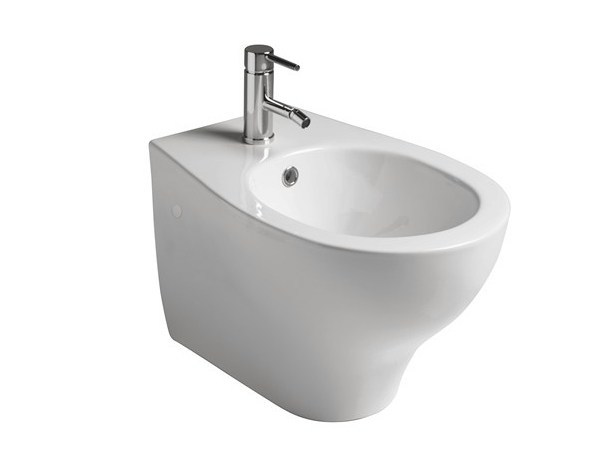 Eden bidet sospeso by galassia design antonio pascale for Architec bidet sospeso