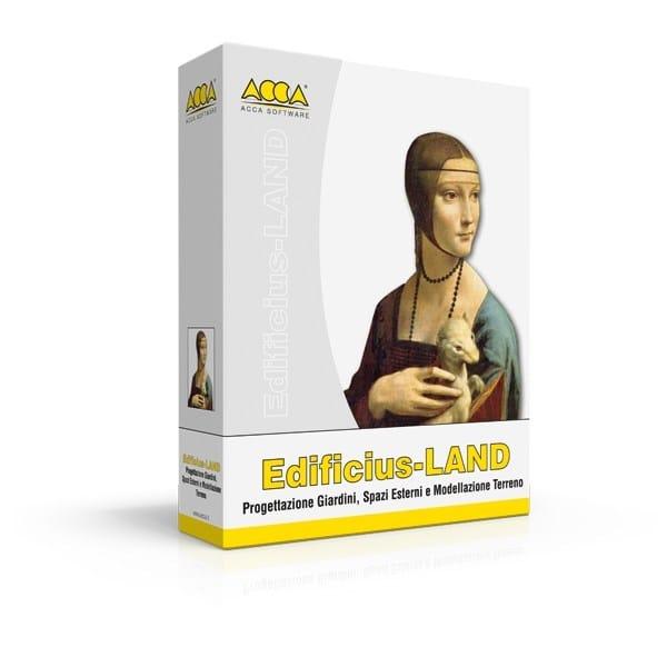 2D & 3D CAD technical design Edificius-LAND by ACCA software
