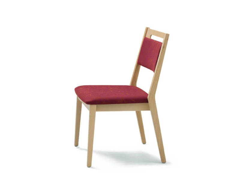 Upholstered fabric chair EDWARD | Fabric chair - Wiesner-Hager