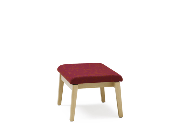 Fabric footstool EDWARD | Footstool - Wiesner-Hager