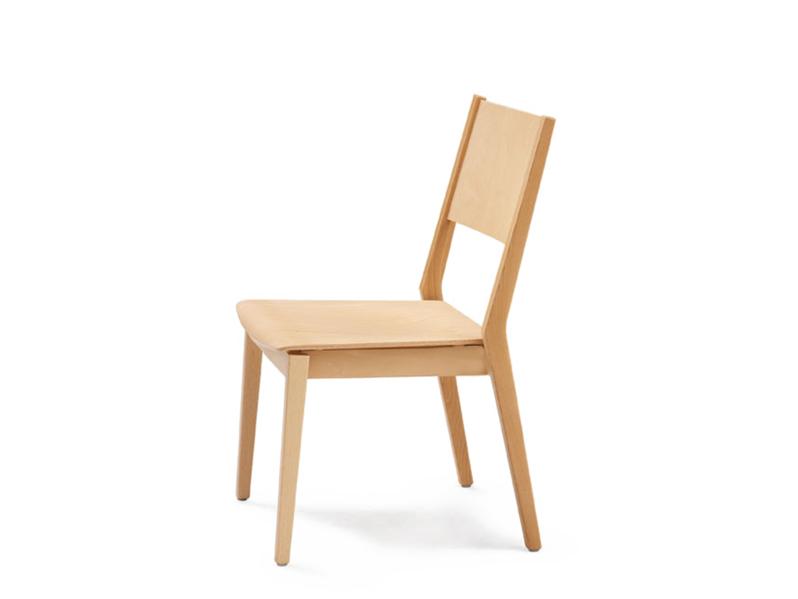 Stackable wooden chair EDWARD | Stackable chair by Wiesner-Hager