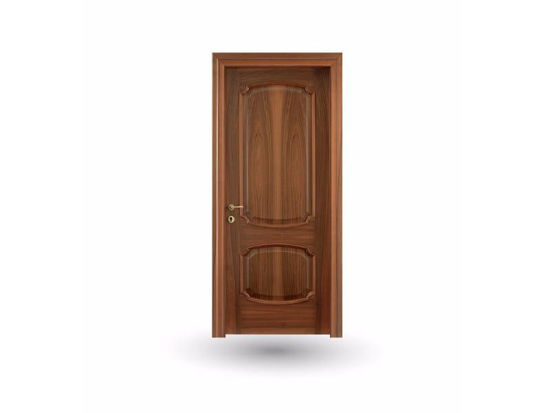 Hinged wooden door EFFIGIES 81 NOCE NAZIONALE by GD DORIGO