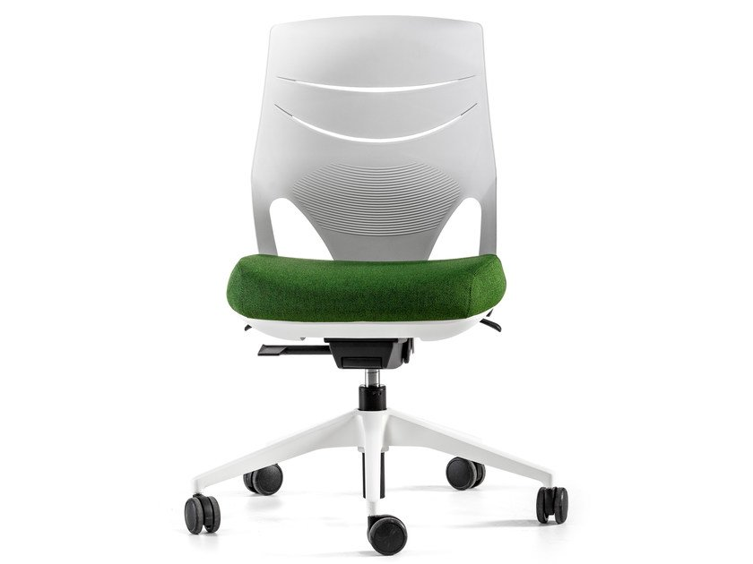 Height-adjustable swivel task chair with 5-Spoke base EFIT | Task chair by ACTIU