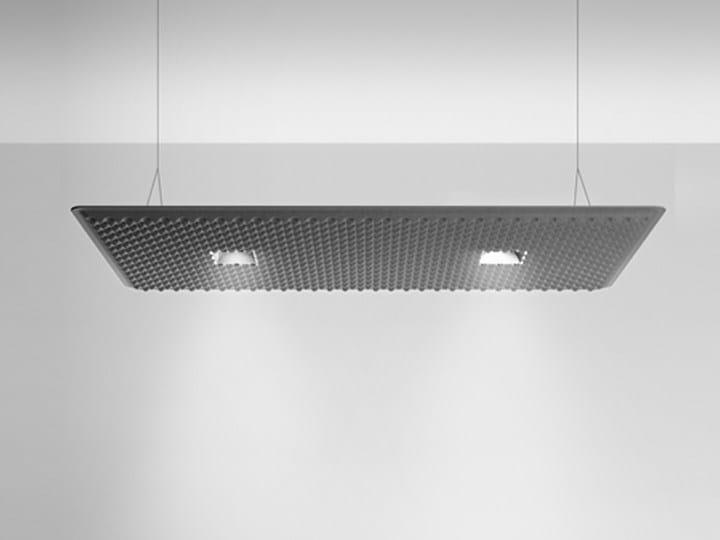 LED suspended panel light EGGBOARD DOWNLIGHT 1600X800 - Artemide Italia