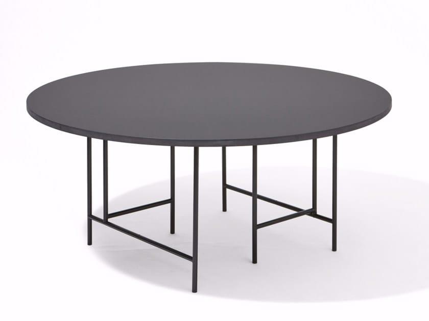 Round linoleum table EIERMANN® 3 | Round table - Richard Lampert