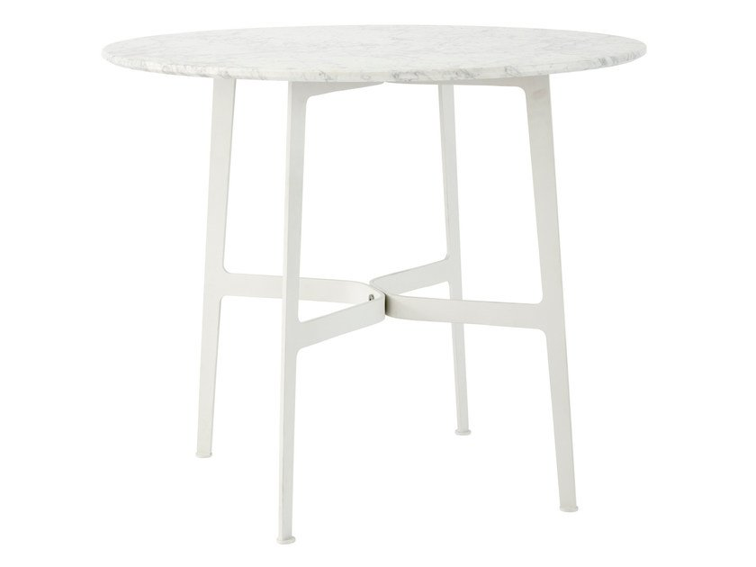 Round marble garden table EILEEN | Marble table by SP01