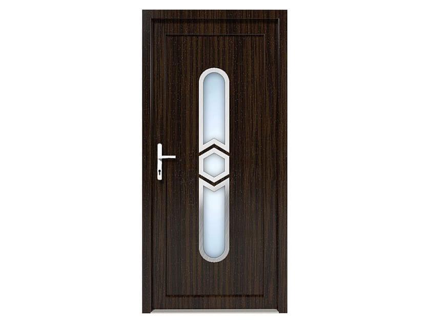 HPL door panel for indoor use EKOLINE 06 by EKO-OKNA