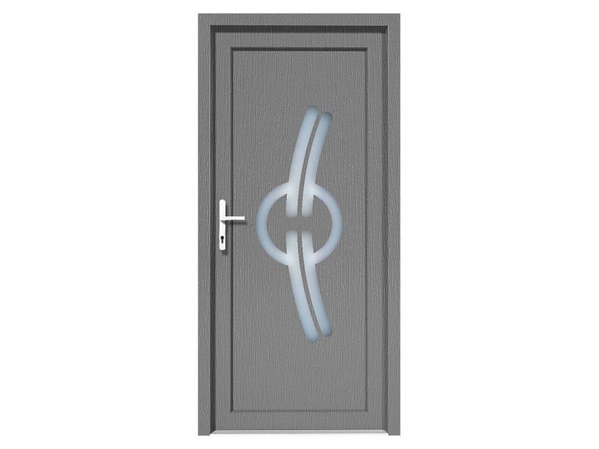 HPL door panel for indoor use EKOLINE 09 by EKO-OKNA