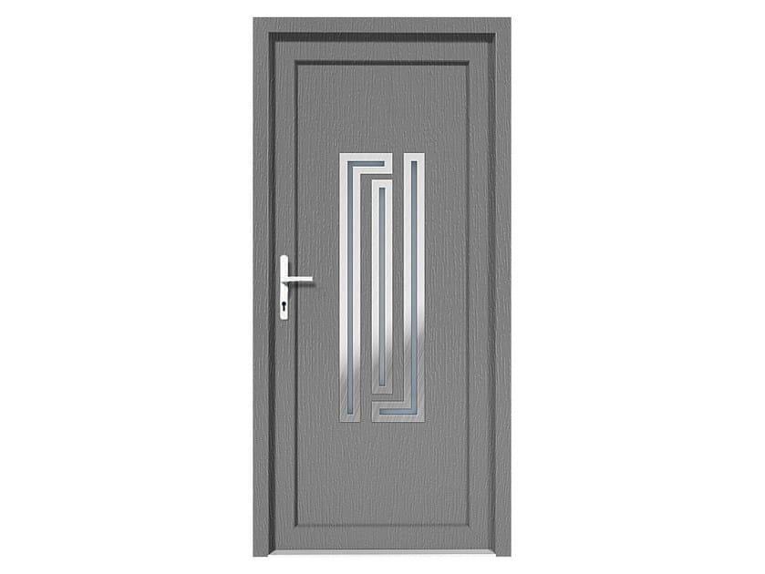 HPL door panel for indoor use EKOLINE 34 by EKO-OKNA