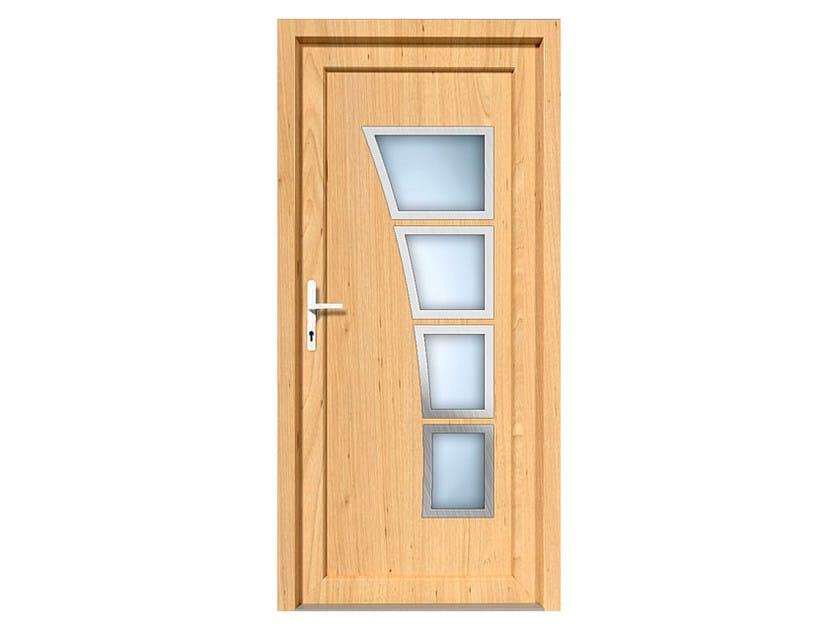 HPL door panel for indoor use EKOLINE 52 by EKO-OKNA