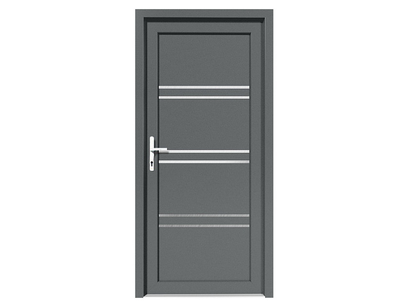 HPL door panel for indoor use EKOLINE 58 by EKO-OKNA