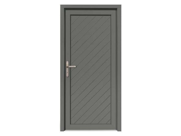 HPL door panel for indoor use EKOLINE 75 by EKO-OKNA