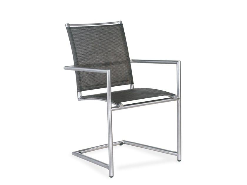 Cantilever stackable garden chair ELEGANCE | Cantilever chair - solpuri