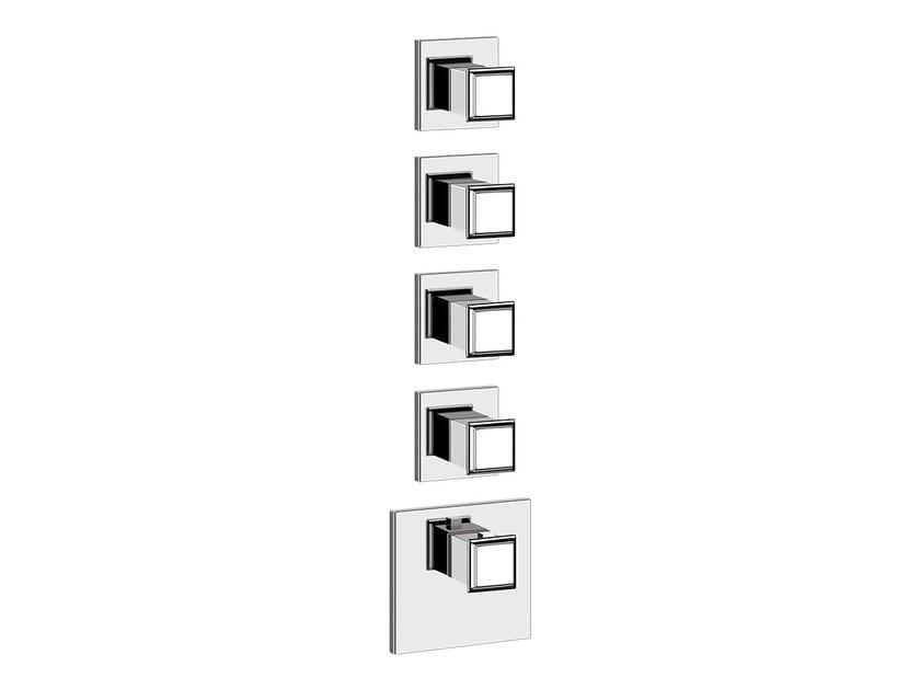5 hole thermostatic shower mixer ELEGANZA SHOWER 46228 - Gessi