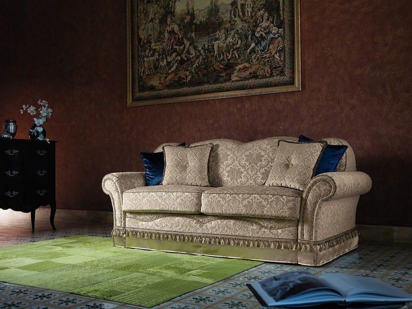 Divano letto sfoderabile in tessuto in stile classico for Divano letto classico