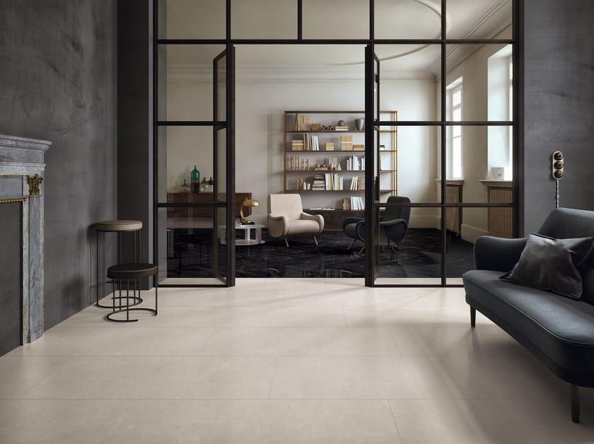 Pavimento/rivestimento in gres porcellanato per interni ELEMENTS DESIGN SILVER by CERAMICHE KEOPE