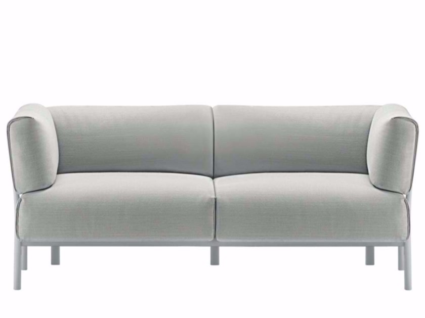 2 seater fabric sofa ELEVEN - 861 | Fabric sofa - Alias