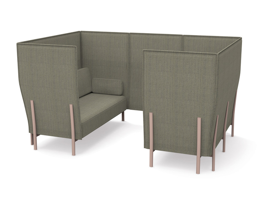 Sectional high-back sofa ELEVEN HIGH BACK PRIVACY - 867 - Alias