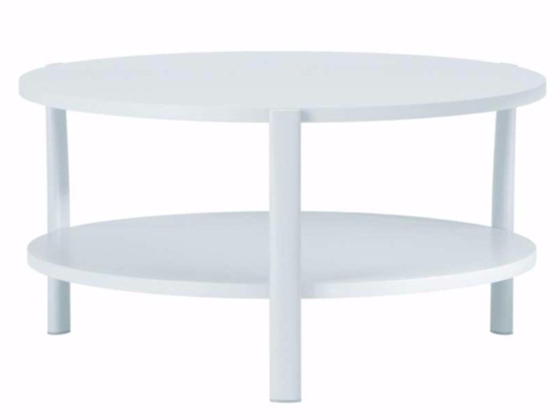 Round MDF coffee table ELEVEN TABLE DOUBLE - 954   Round coffee table - Alias