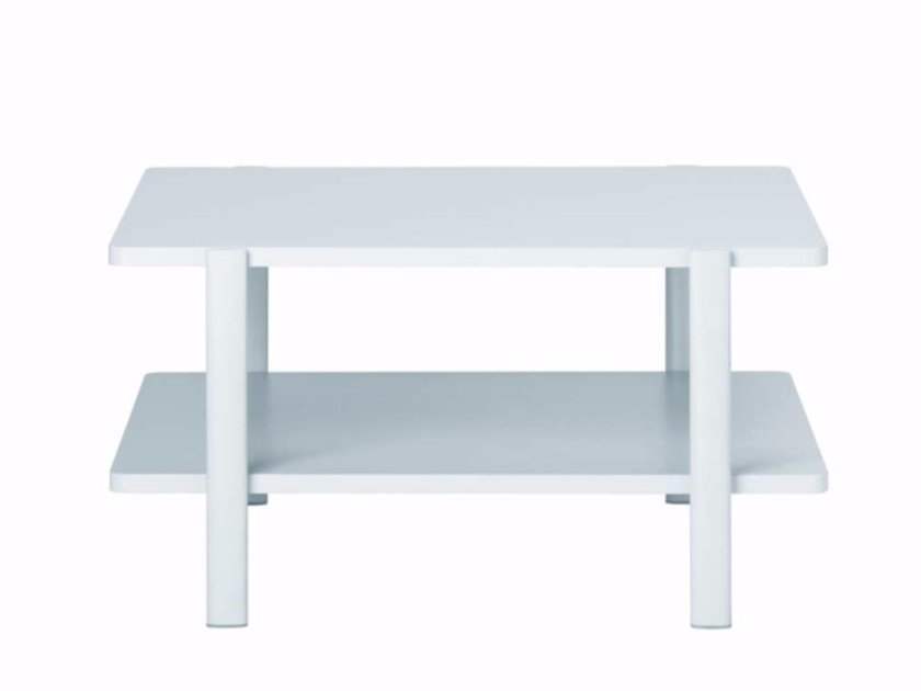 Square MDF coffee table ELEVEN TABLE DOUBLE - 954 | Square coffee table - Alias