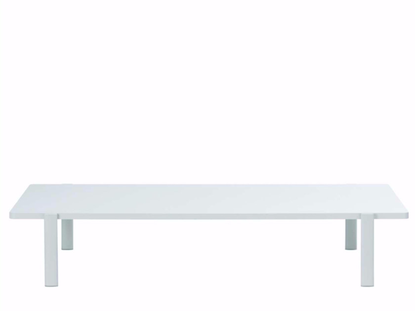 Lacquered rectangular MDF coffee table ELEVEN TABLE SINGULAR - 955 | Rectangular coffee table - Alias