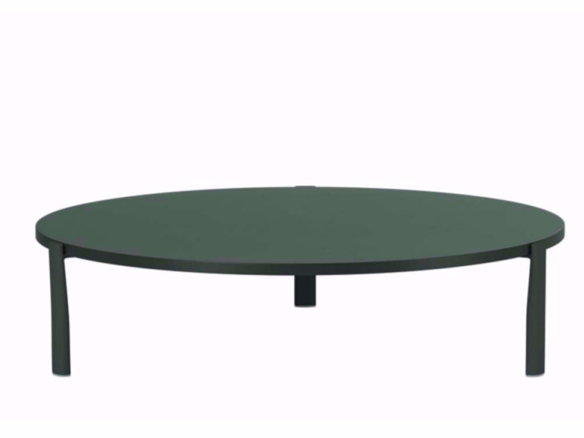 Lacquered round MDF coffee table ELEVEN TABLE SINGULAR - 955 | Round coffee table - Alias